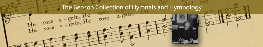 Benson Collection of Hymnals and Hymnology