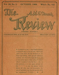 cover of A.M.E. Church Review